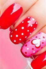 Manicure, fingers, nails, paint