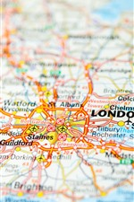 iPhone обои Карта, Англия, Лондон