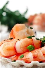 Camarão, marisco, comida