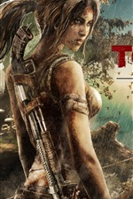 Preview iPhone wallpaper Tomb Raider Reborn