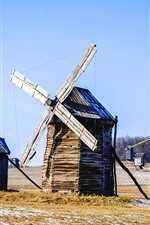 Preview iPhone wallpaper Ukraine, windmill