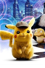 Preview iPhone wallpaper 2019 movie, Pokemon Detective Pikachu