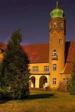Castle Ulenburg, Germany, trees, shadow