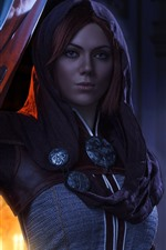 Preview iPhone wallpaper Dragon Age: Inquisition, beautiful girl