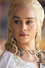 Preview iPhone wallpaper Emilia Clarke, actress, Game Of Thrones