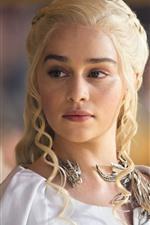 Emilia Clarke, actress, Game Of Thrones