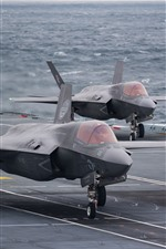 Preview iPhone wallpaper F-35B Lightning II fighter