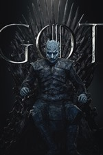 Preview iPhone wallpaper Game of Thrones, hot TV series