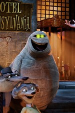 Preview iPhone wallpaper Hotel Transylvania, cartoon movie
