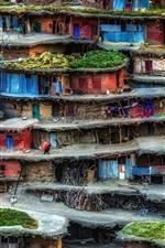 Preview iPhone wallpaper Iran, slum, houses