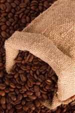 Preview iPhone wallpaper Many coffee beans, one bag