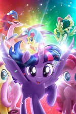 Preview iPhone wallpaper My Little Pony, cartoon movie