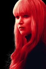 Vorschau des iPhone Hintergrundbilder Roter Spatz, Jennifer Lawrence