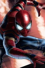 Preview iPhone wallpaper Spider-Man, DC Comic, superhero