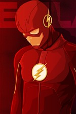 Preview iPhone wallpaper The Flash, superhero, DC comics