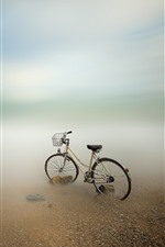 Preview iPhone wallpaper Bike, sea, coast