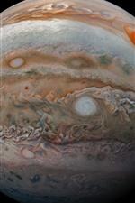 Júpiter, fundo preto