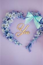 Te amo, amor coração, flores, café, borboleta