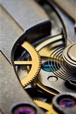 Preview iPhone wallpaper Mechanism watch, gears