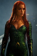 Preview iPhone wallpaper Mera, Amber Heard, Aquaman