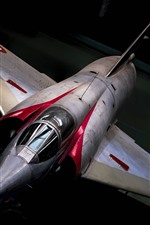Preview iPhone wallpaper Mirage III fighter
