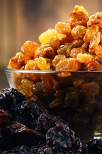 Preview iPhone wallpaper One bowl of dried raisins