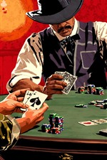 Red Dead Redemption 2, cartas de poker