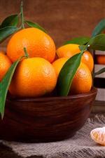 iPhone обои Немного цитрусовых, фруктов, свежих