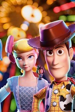 Preview iPhone wallpaper Toy Story 4, 3D cartoon movie