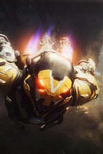 Preview iPhone wallpaper Anthem, E3 games, war, soldiers