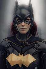 Preview iPhone wallpaper Batgirl, DC Comics