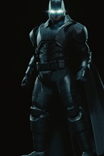 Preview iPhone wallpaper Batman, superhero, mask, black background