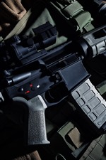 Preview iPhone wallpaper Beretta M9 automatic carbine, weapon