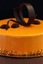 미리보기 iPhone 배경 화면 케익, 오렌지, 초콜릿
