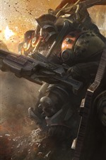 Preview iPhone wallpaper Destiny, robot, war, game art picture
