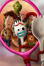 Preview iPhone wallpaper Disney movie, Toy Story 4
