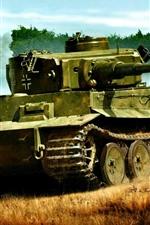 iPhone壁紙のプレビュー 重戦車、ドイツ