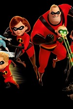 Incredibles 2, black background