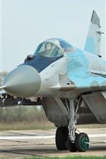 Preview iPhone wallpaper MiG-29 fighter, Ukraine