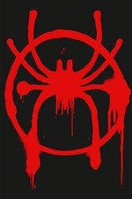 Preview iPhone wallpaper Spider-man logo, art picture