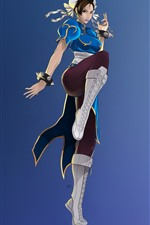 Preview iPhone wallpaper Street Fighter, Chun-Li, classic game