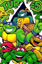 TMNT, Teenage Mutant Ninja Turtles, anime clássico