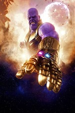 Preview iPhone wallpaper Thanos, DC comics, movie