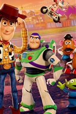 Preview iPhone wallpaper Toy Story 4, cartoon movie 2019