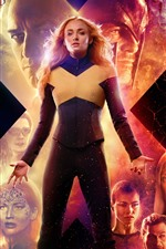 Preview iPhone wallpaper X-Men: Dark Phoenix, 2019 movie