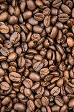 Preview iPhone wallpaper Lot of coffee beans