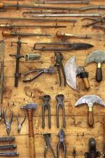 Muitas ferramentas diferentes