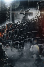 Metro: Êxodo, trem, jogo