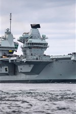 iPhone壁紙のプレビュー イギリス海軍、空母
