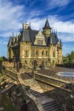 Preview iPhone wallpaper Russia, Garibaldi Castle
